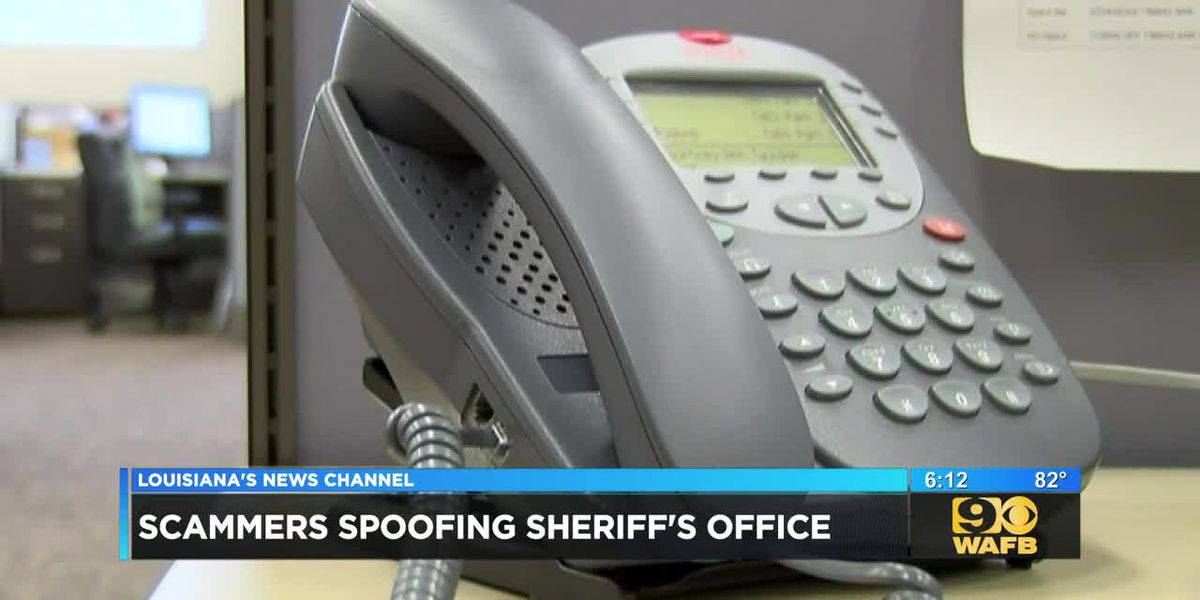 Officials warn of scammers spoofing LPSO phone number
