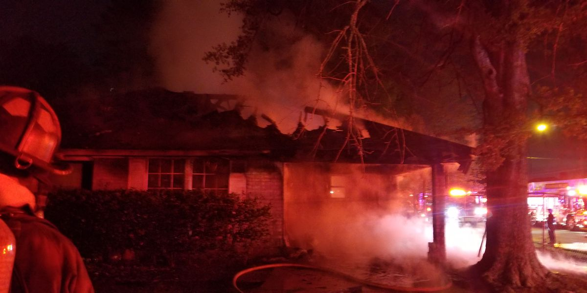 BRFD rule arson as cause of early morning house fire on S. Howell Drive