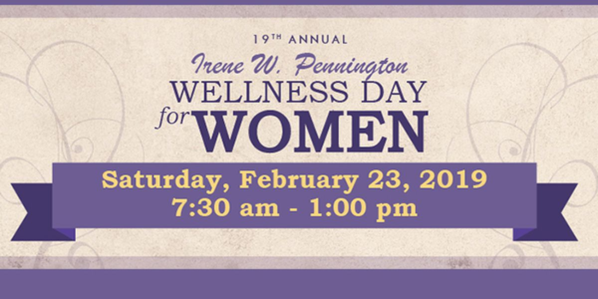 Wellness Day for Women happening Saturday at Pennington