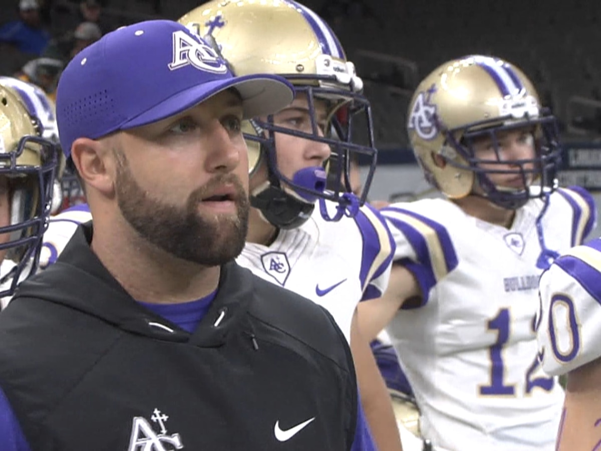 Trosclair out as head coach at Ascension Catholic High School after feud with administration