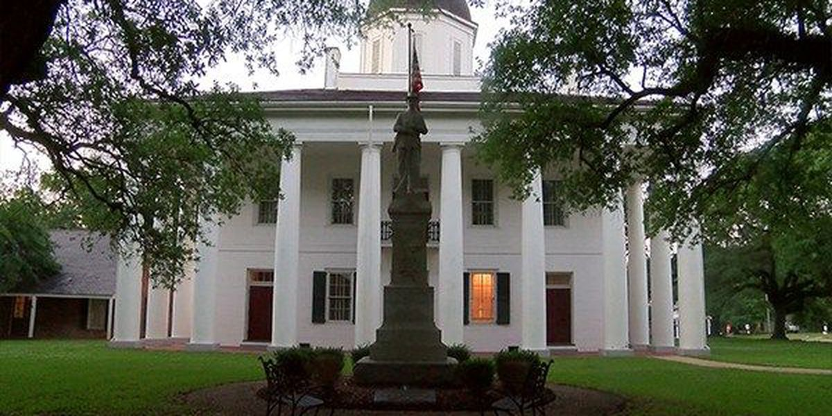 Attorney files appeal after judge denies motion for change of venue due to Confederate monument outside of E Feliciana courthouse