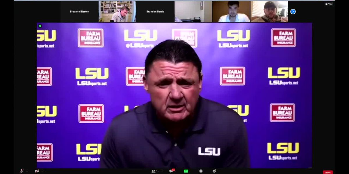 FULL INTERVIEW: Lunch with Coach O: LSU vs. Bama Preview