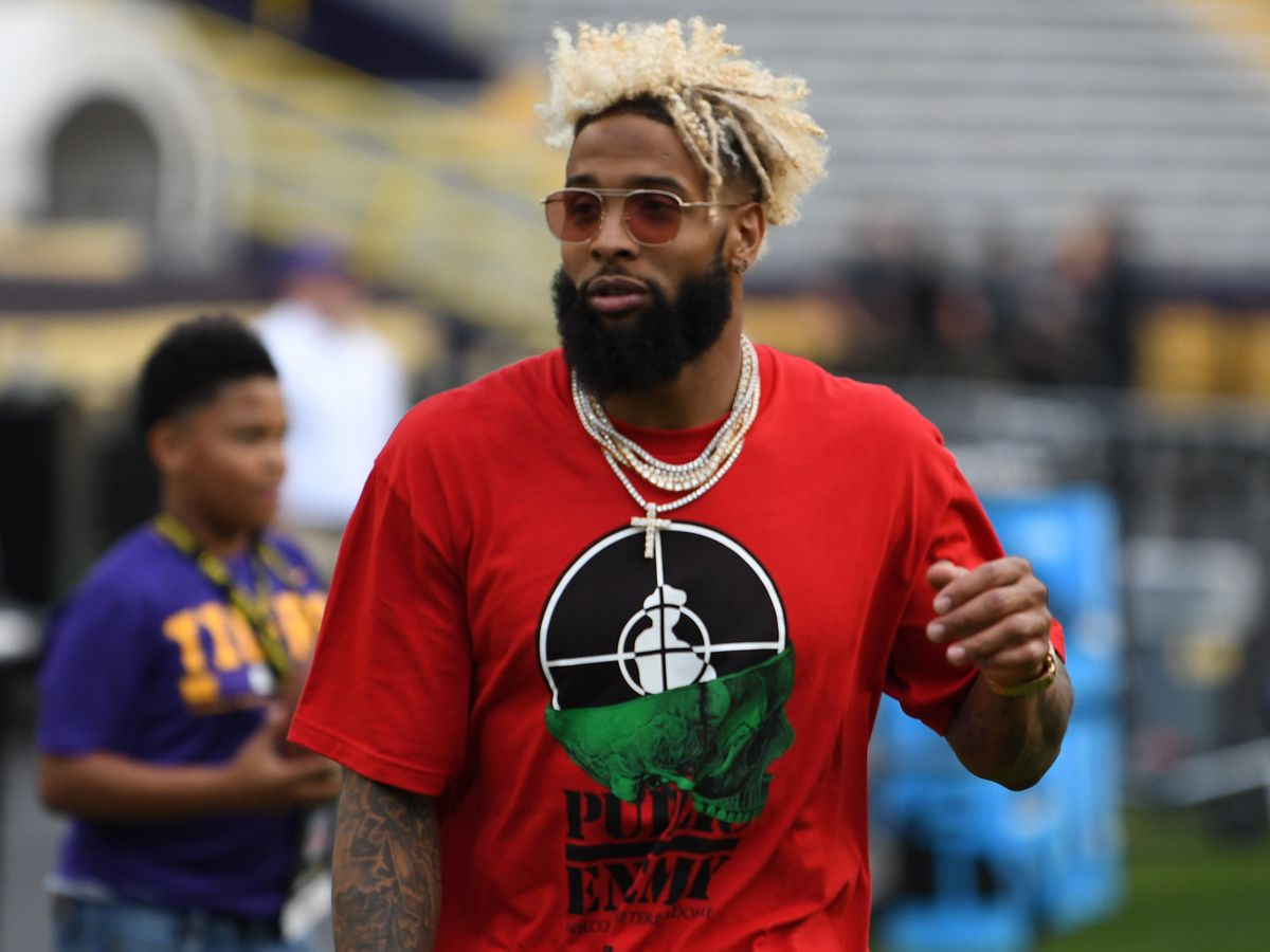 AP source: Beckham Jr agrees to 5-year deal with Giants