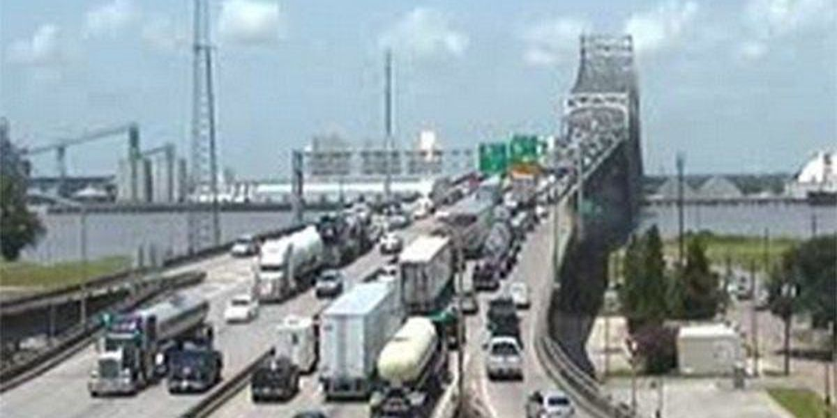 Congestion clears on I-10 West after crash cleared, road repair work finished