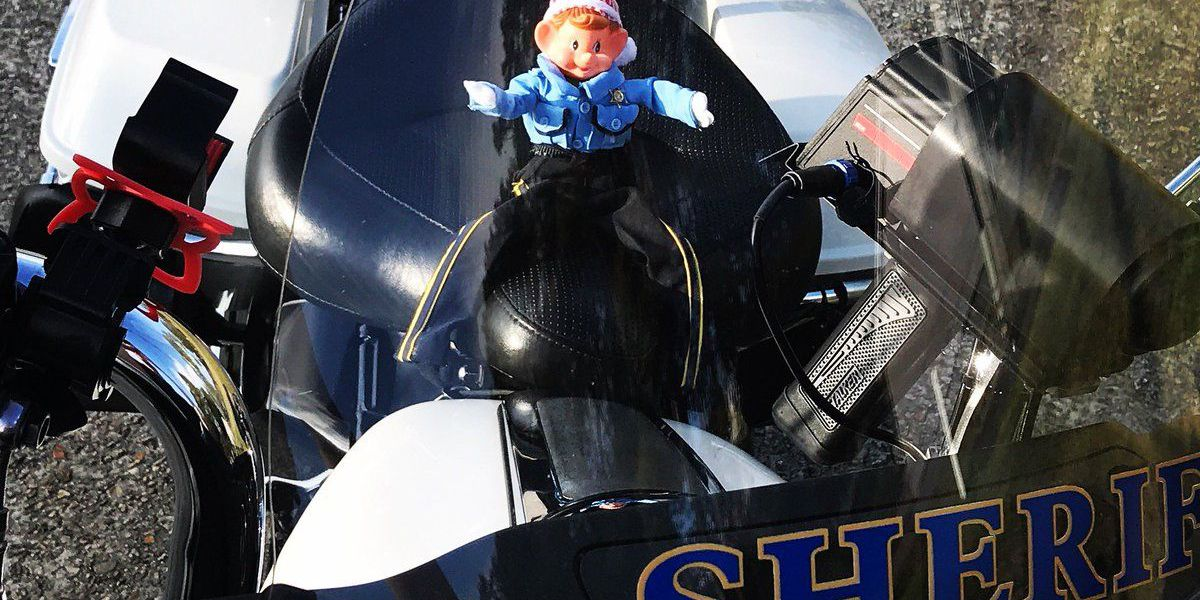 Sheriff's office encourages safe driving with holiday twist
