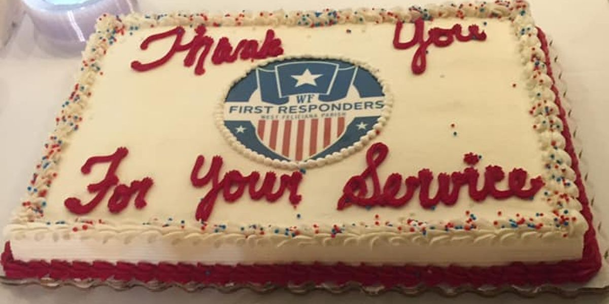 West Feliciana honors its first responders