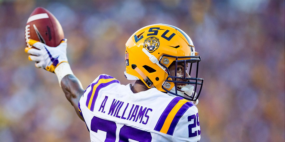 LSU cornerback Greedy Williams declares for 2019 NFL Draft