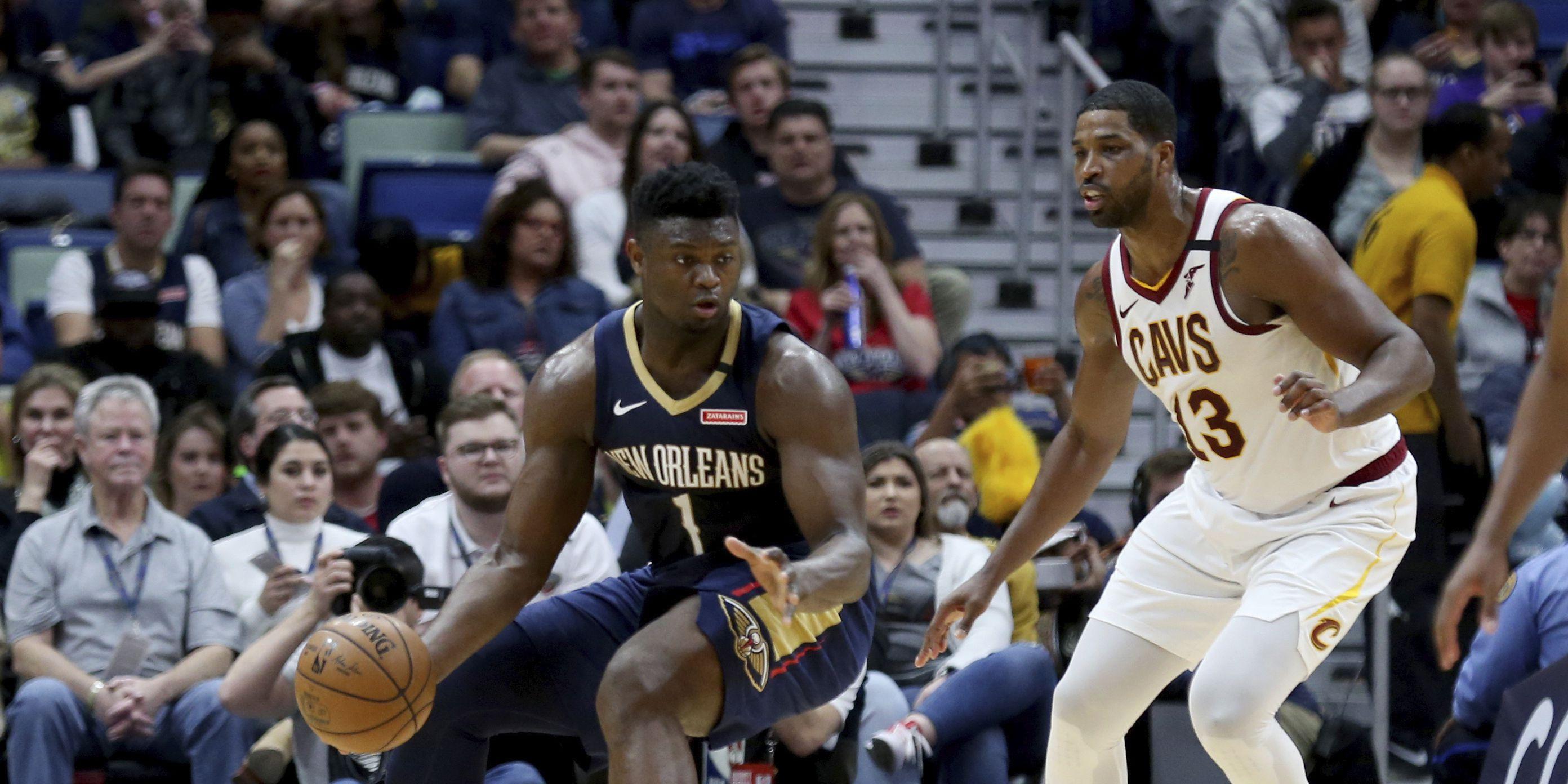 Ingram, Williamson lead Pelicans past Cavaliers 116-104