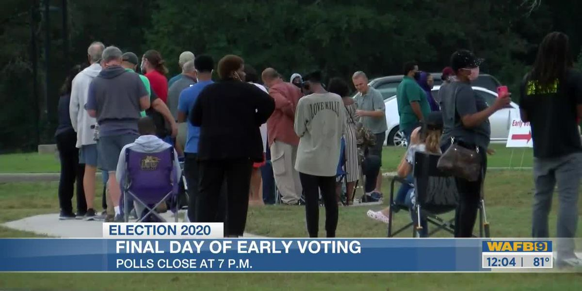 Early voting ends Tuesday
