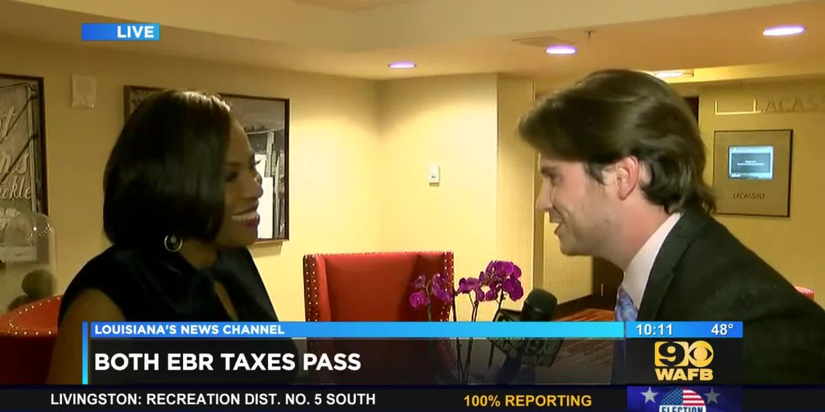 EXCLUSIVE: Matt Houston interviews Mayor Broome after passage of two key taxes