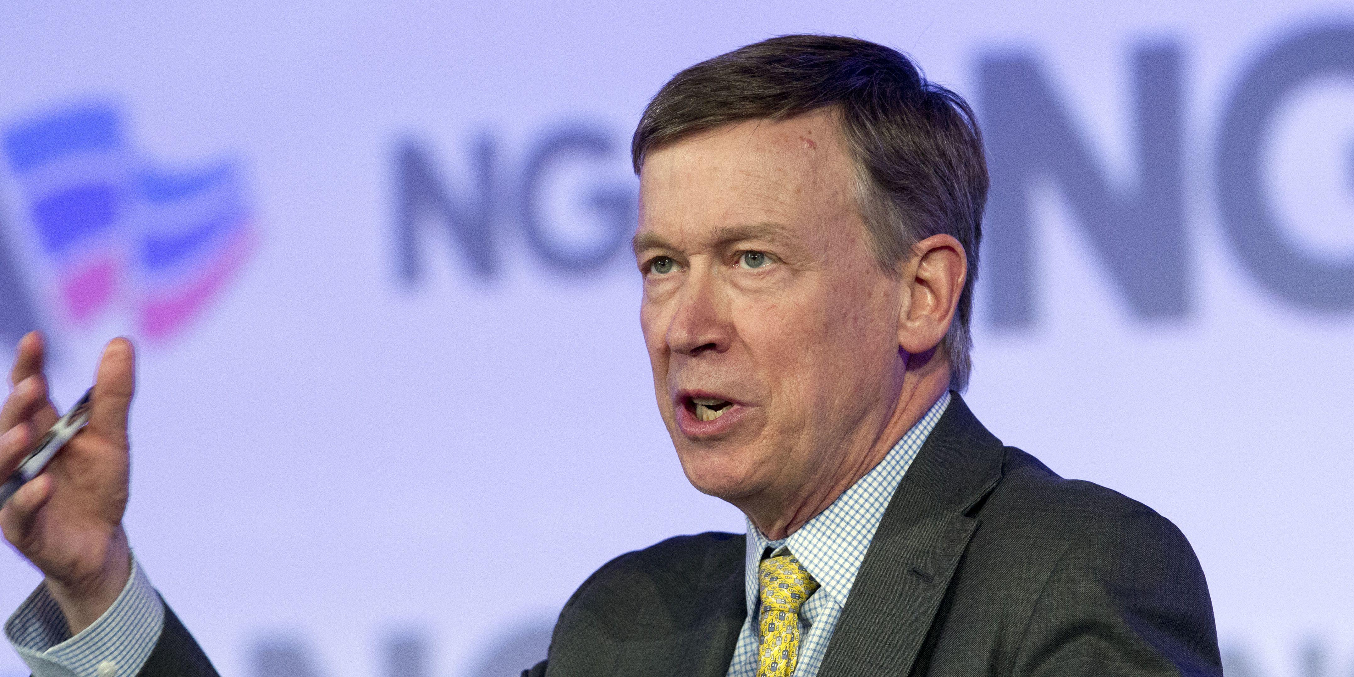 John Hickenlooper ends 2020 presidential bid