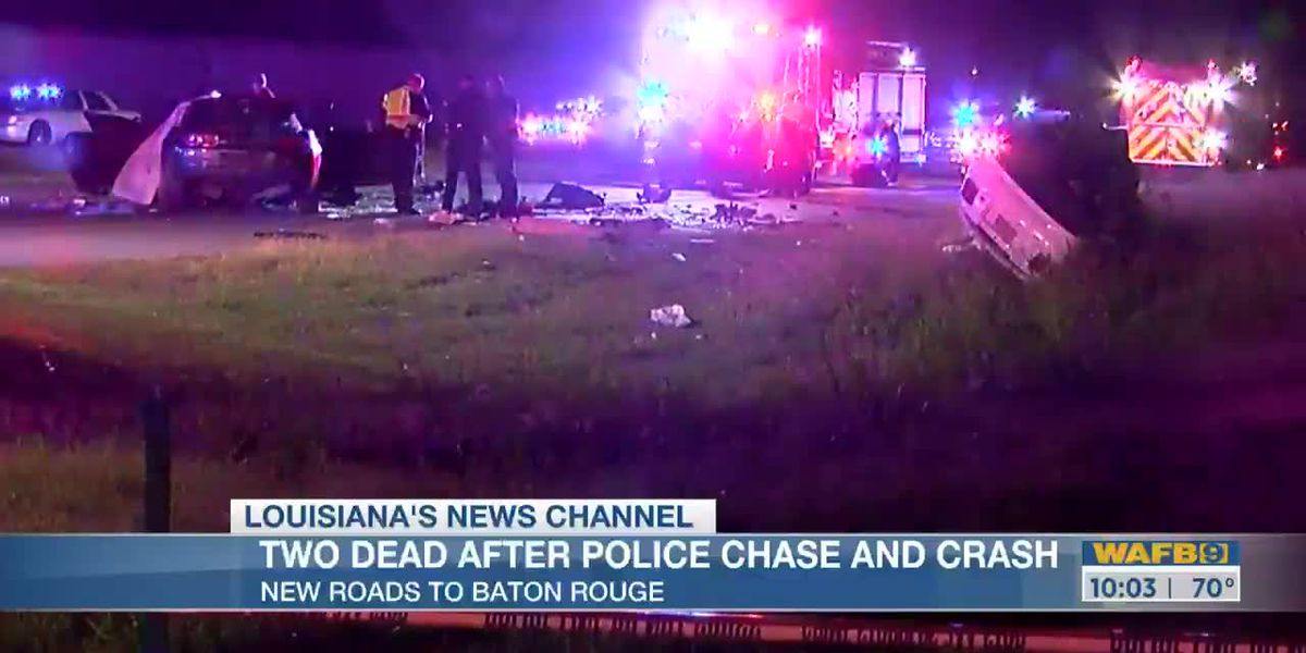 Police chase from New Roads to Baton Rouge leaves 2 dead