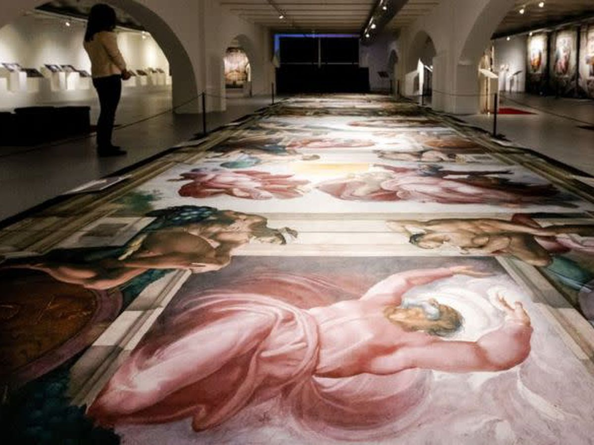 Reproduction of Michelangelo's Sistine Chapel coming to Baton Rouge