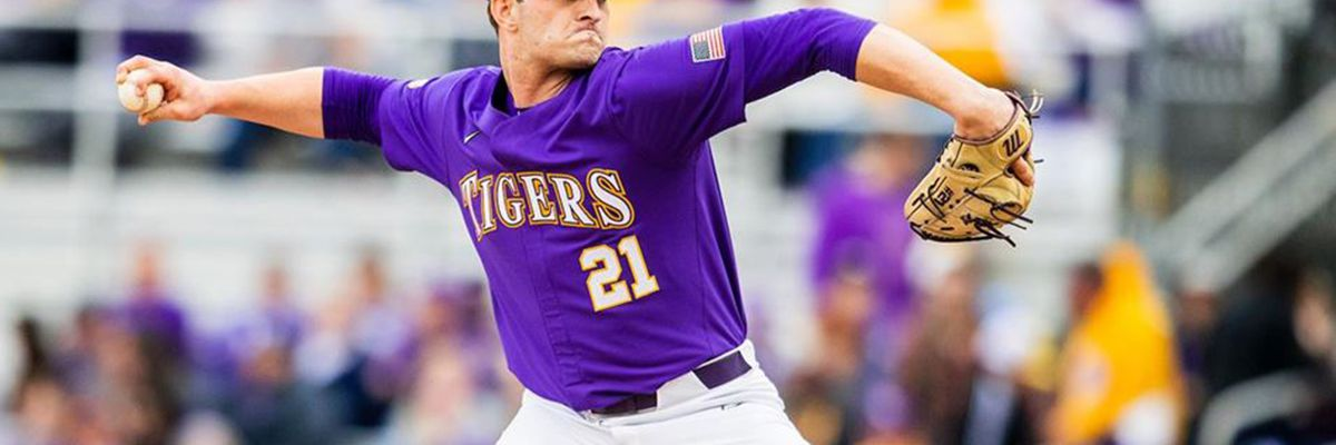 LSU pitcher/tight end Nick Storz decides to focus on football full-time