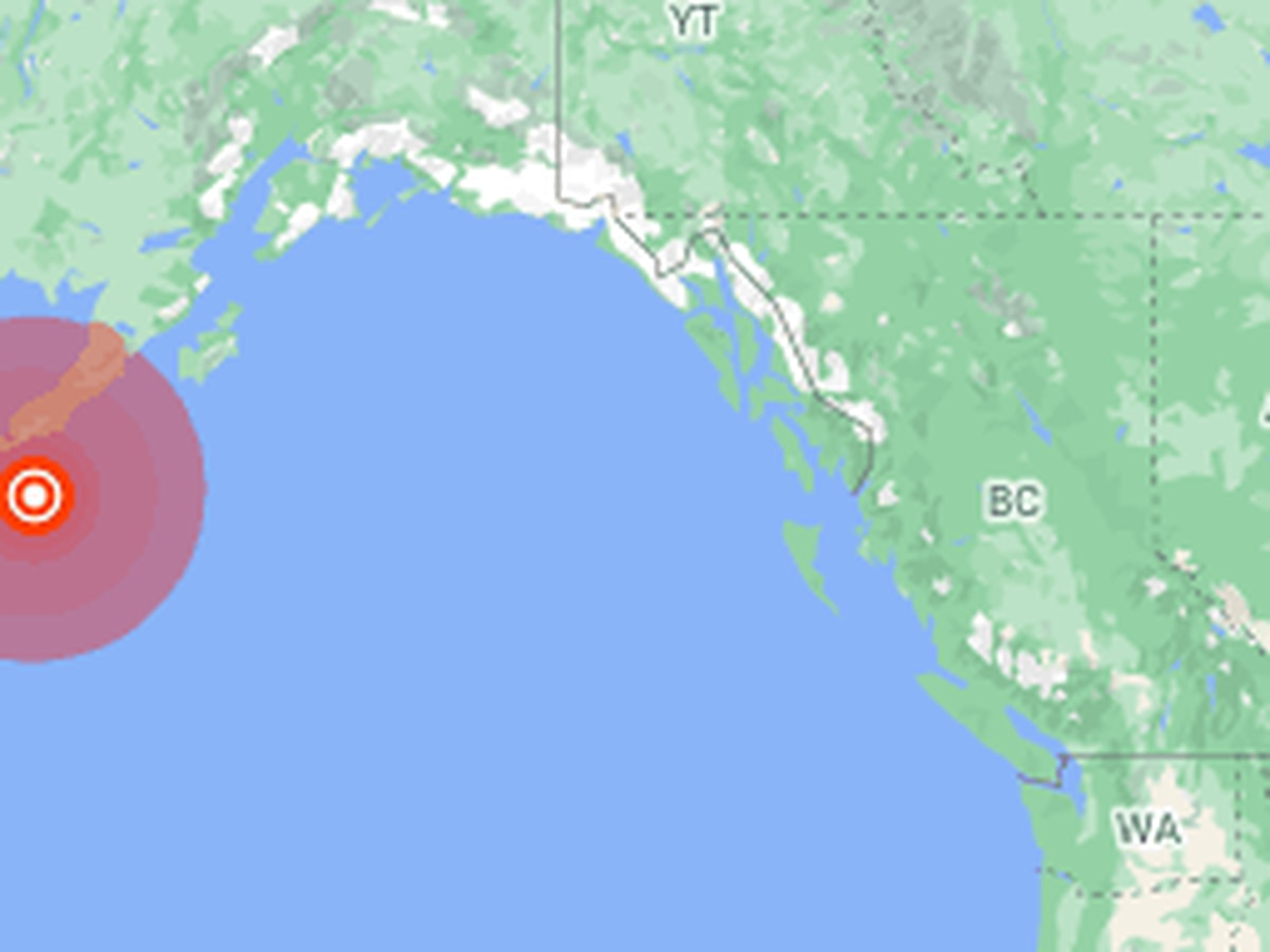 Large earthquake off Alaska prompts tsunami fears