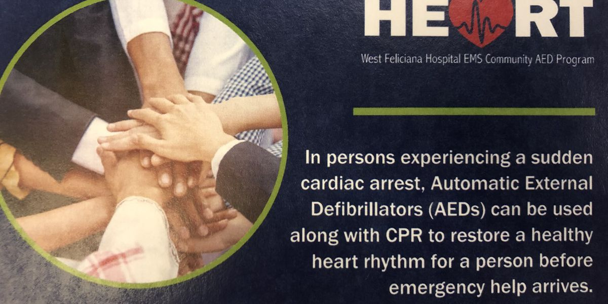 'Jump Start a Heart' program hopes to save lives in West Feliciana Parish