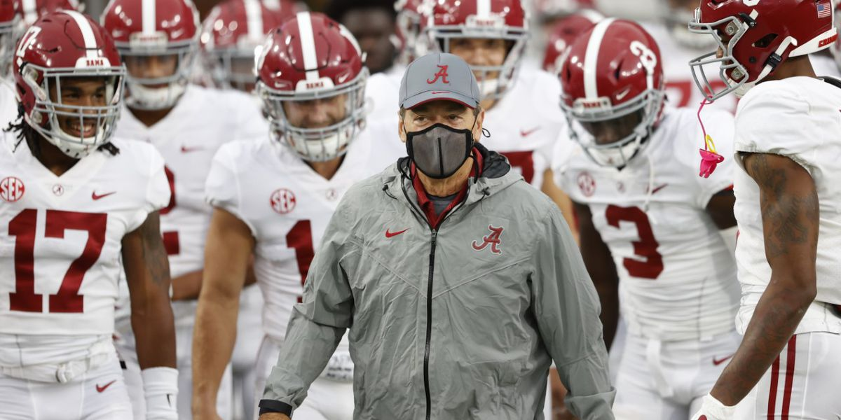 Alabama Head Coach Nick Saban will coach the Tide against Georgia Saturday night