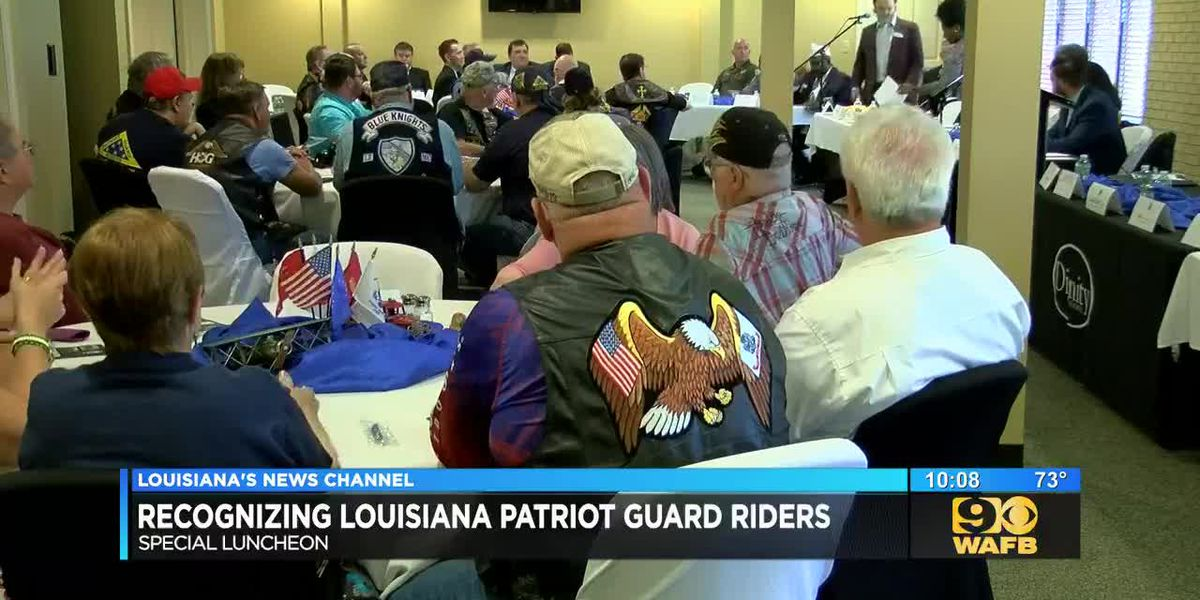Greenoaks Funeral Home honors Louisiana Patriot Guard Riders as part of Military Appreciation Month