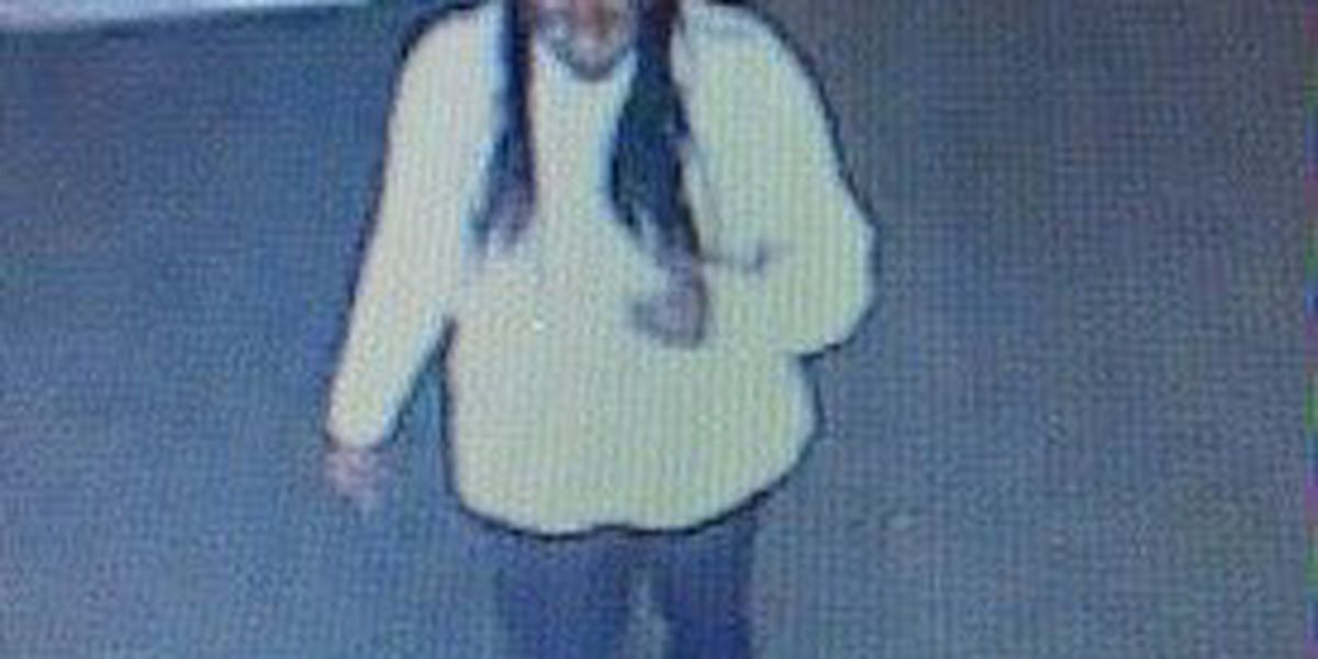 Baton Rouge and Gonzales Police Departments looking for credit card theft suspect
