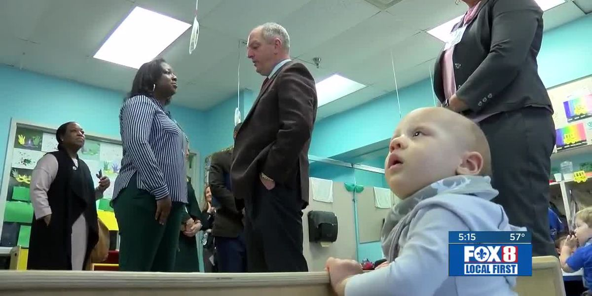 Gov. Edwards is optimistic about his push to increase funding for early childhood learning