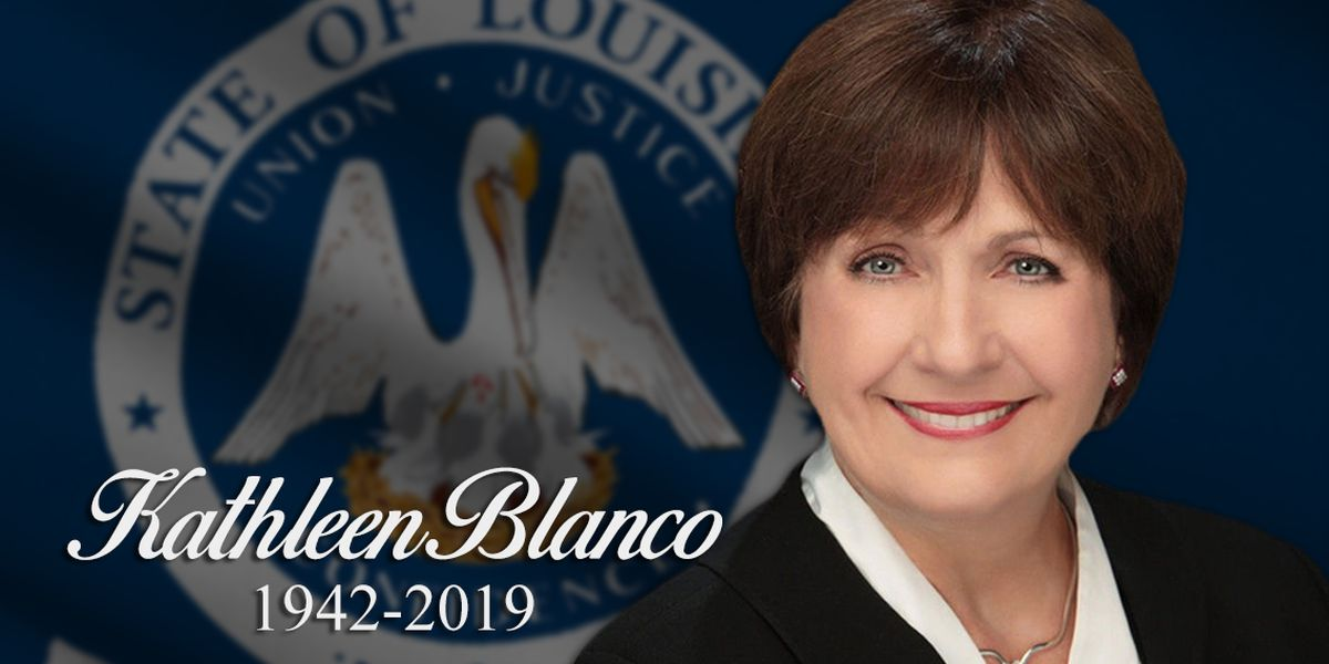Remembering Kathleen Blanco: Tributes pour in after former governor's death