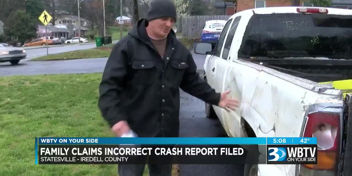 Family claims incorrect crash report filed