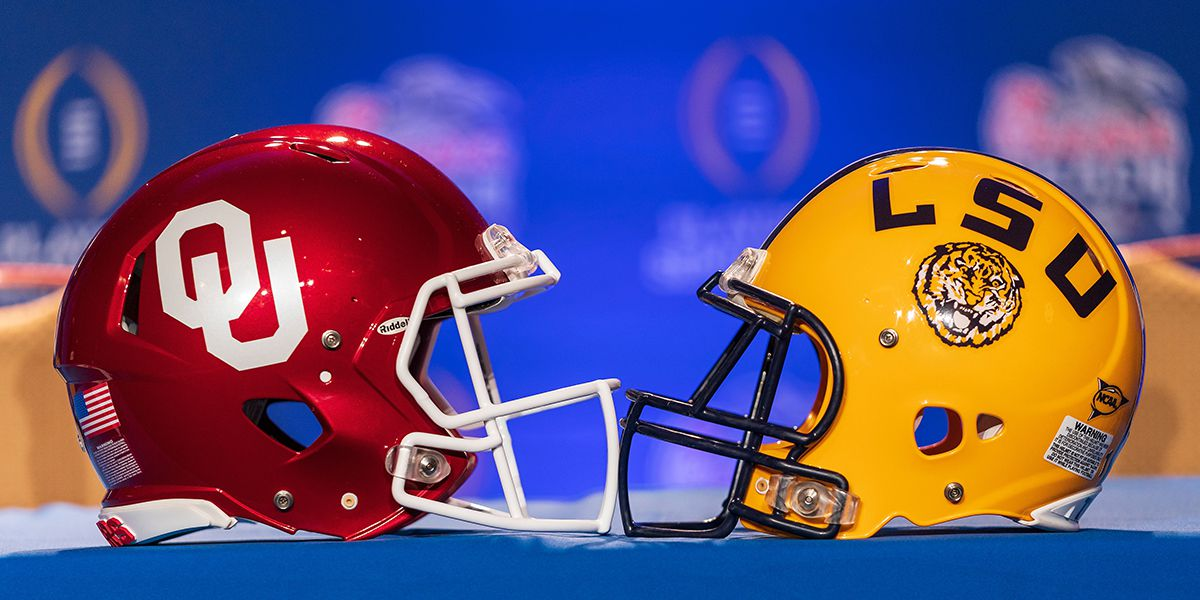 LSU Blows Out Oklahoma In Peach Bowl Game