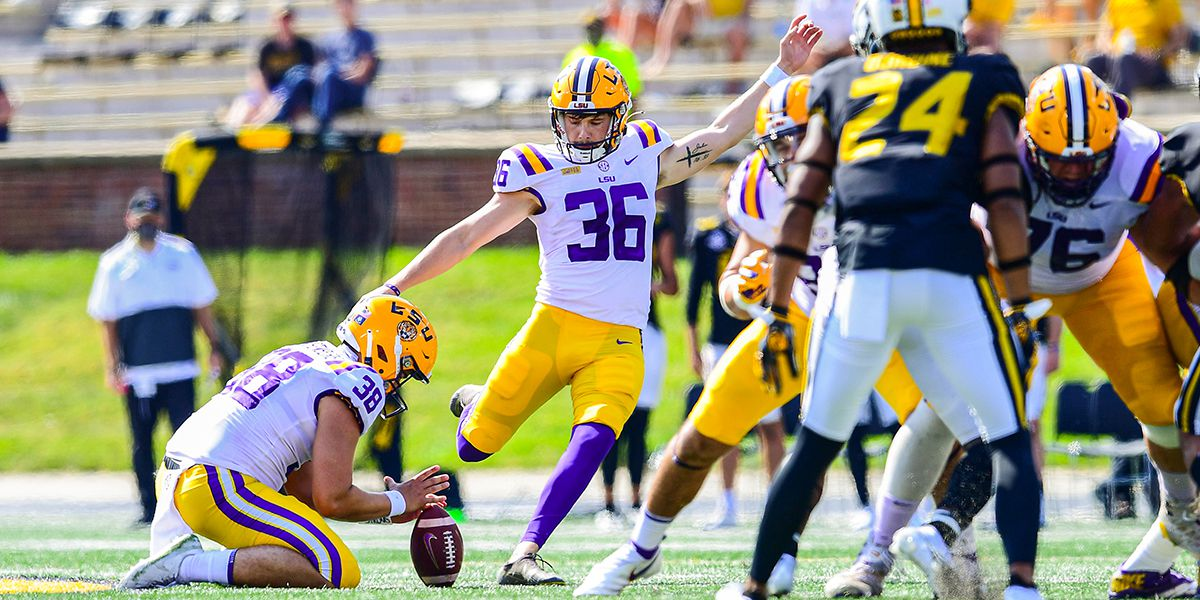 LSU K Cade York named FWAA second team All-American