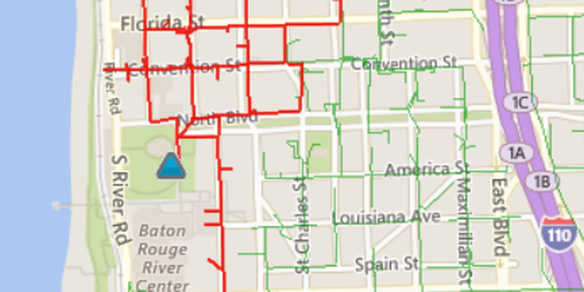 Power restored to downtown Baton Rouge after hours-long outage