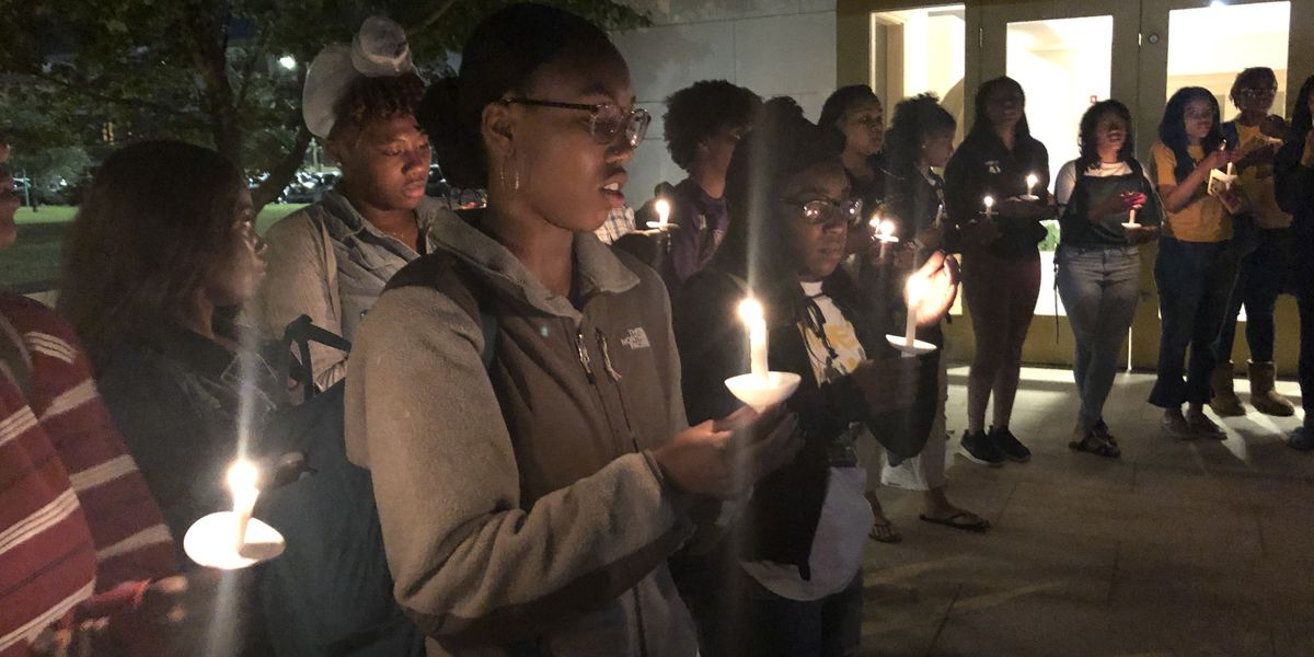 Xavier students host vigil for former student shot and killed in Texas police shooting