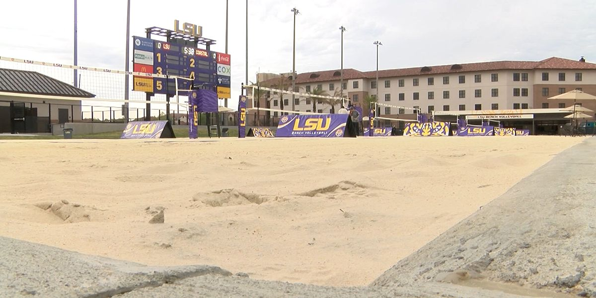 No. 2 LSU hosts No. 1 UCLA for Tiger Beach Challenge