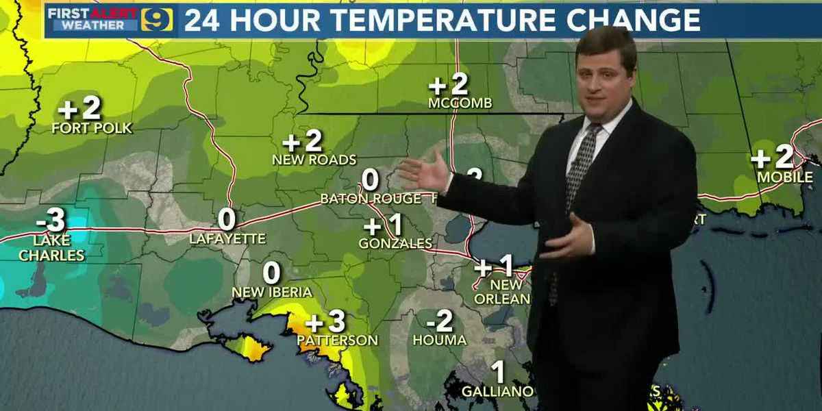 9News at 5:00 weather, Monday, Jan. 18