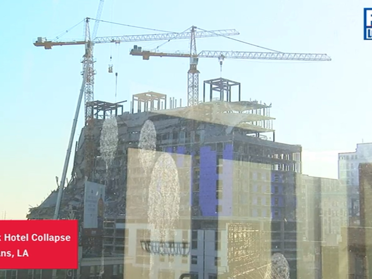 'Demo Day' is here for Hard Rock Hotel cranes, city says