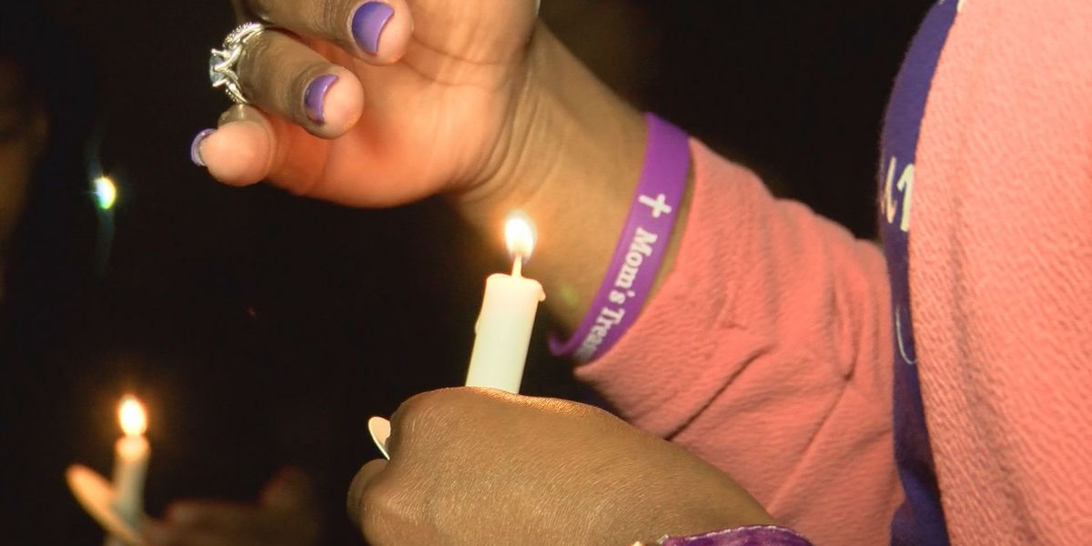 Baton Rouge non-profit holds vigil for domestic violence victims