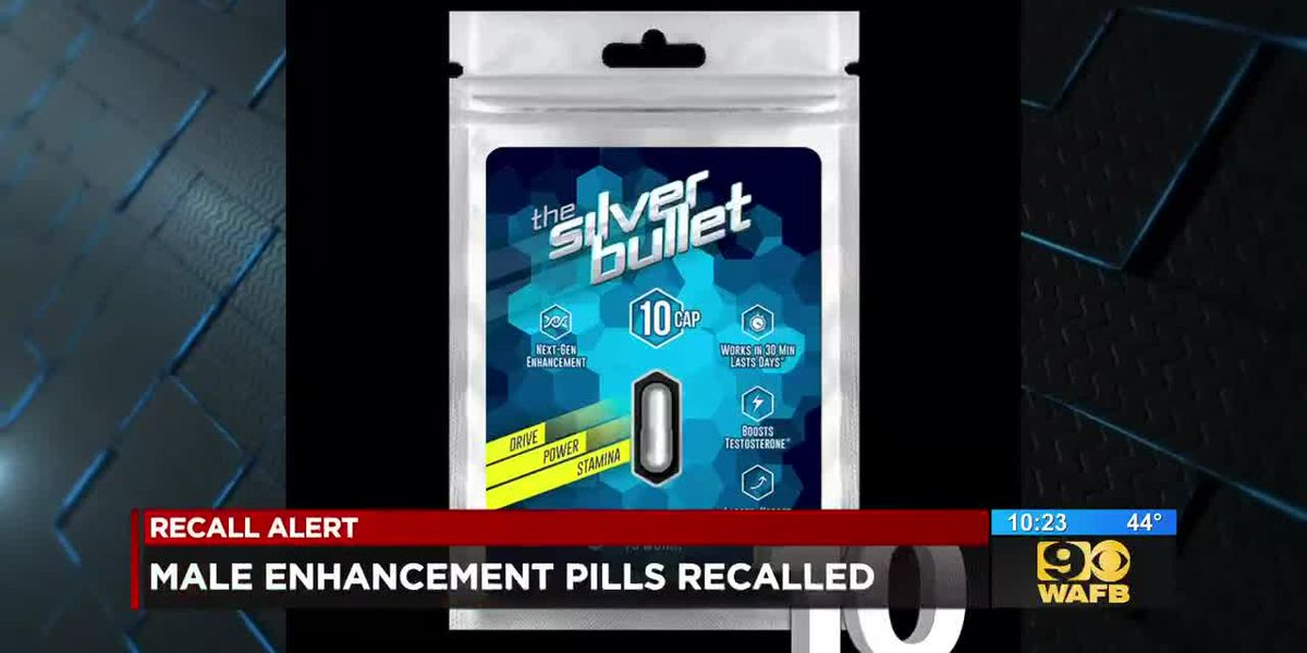 Male enhancement drug recalled for risk of dangerously lowering blood pressure