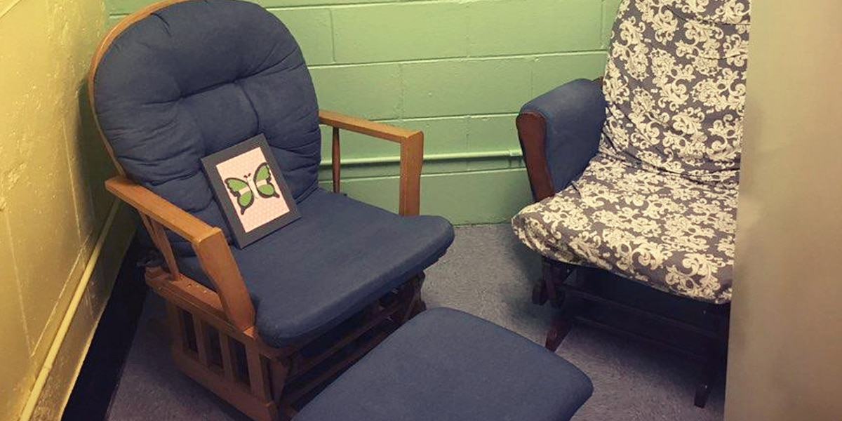 Alabama women's prison opens first-of-its-kind lactation room