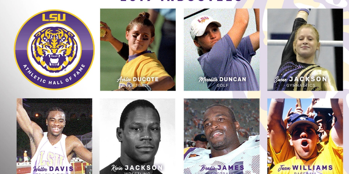 Seven greats to enter LSU Athletic Hall of Fame