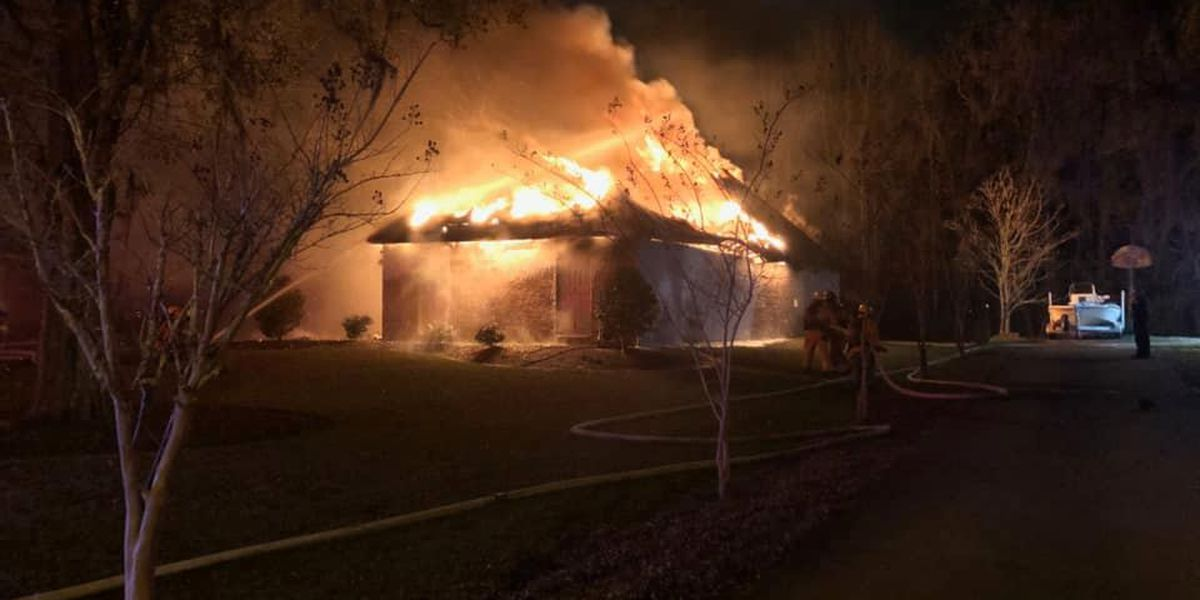 Multiple departments respond to second alarm fire on E Coliseum