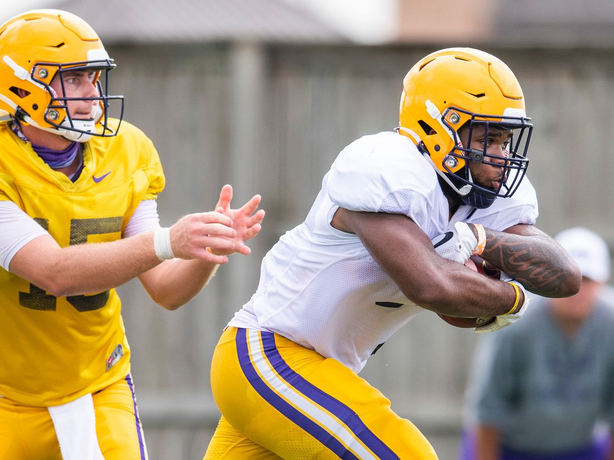 LSU running back says he's dedicating game against Miss. St. to Remy Hidalgo