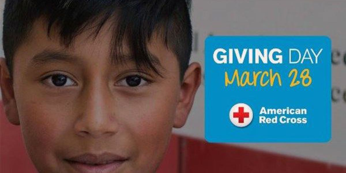 Wednesday is Red Cross Giving Day