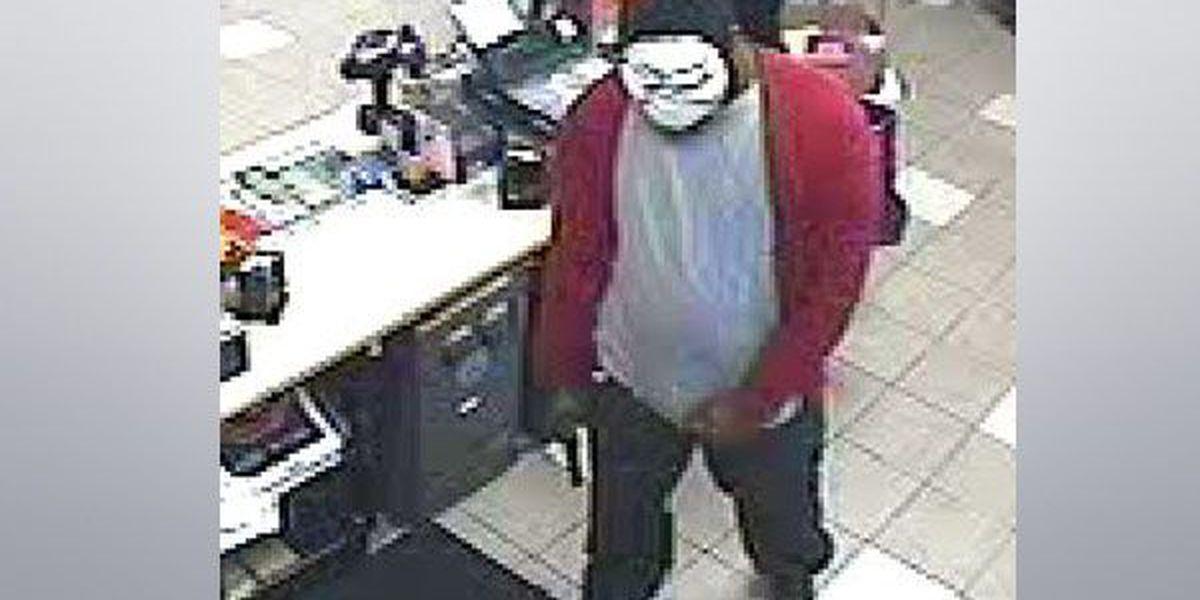 Police: Armed man in Halloween mask robs Denham Springs gas station