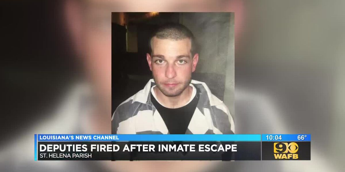 St. Helena deputies fired after inmate escapes