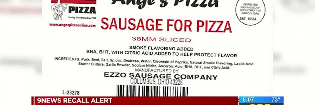 RECALL ALERT: Key pizza toppings being recalled for possible listeria contamination