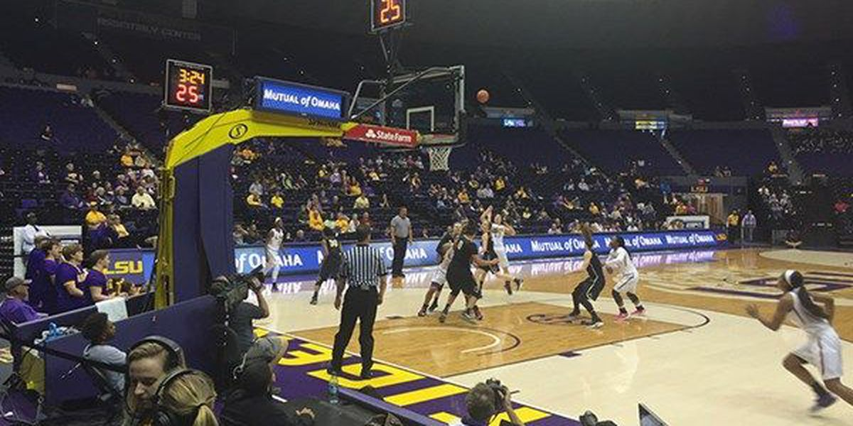 LSU gets past Vanderbilt 64-58 in final regular season game