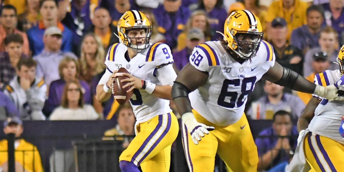 Orgeron gives final media availability before No. 2 LSU faces No. 9 Auburn