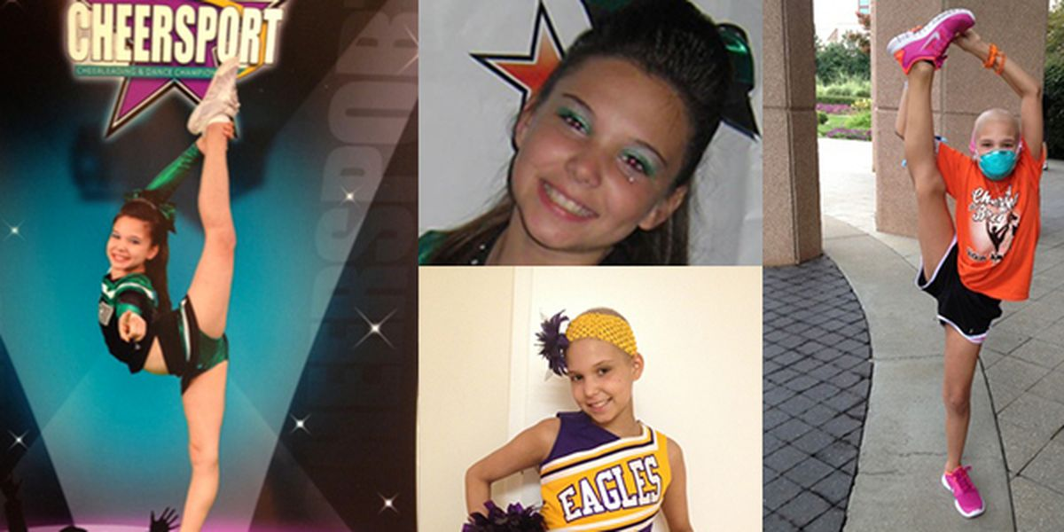 Local cheerleaders to host fundraiser, 'Cheering for Breanna'