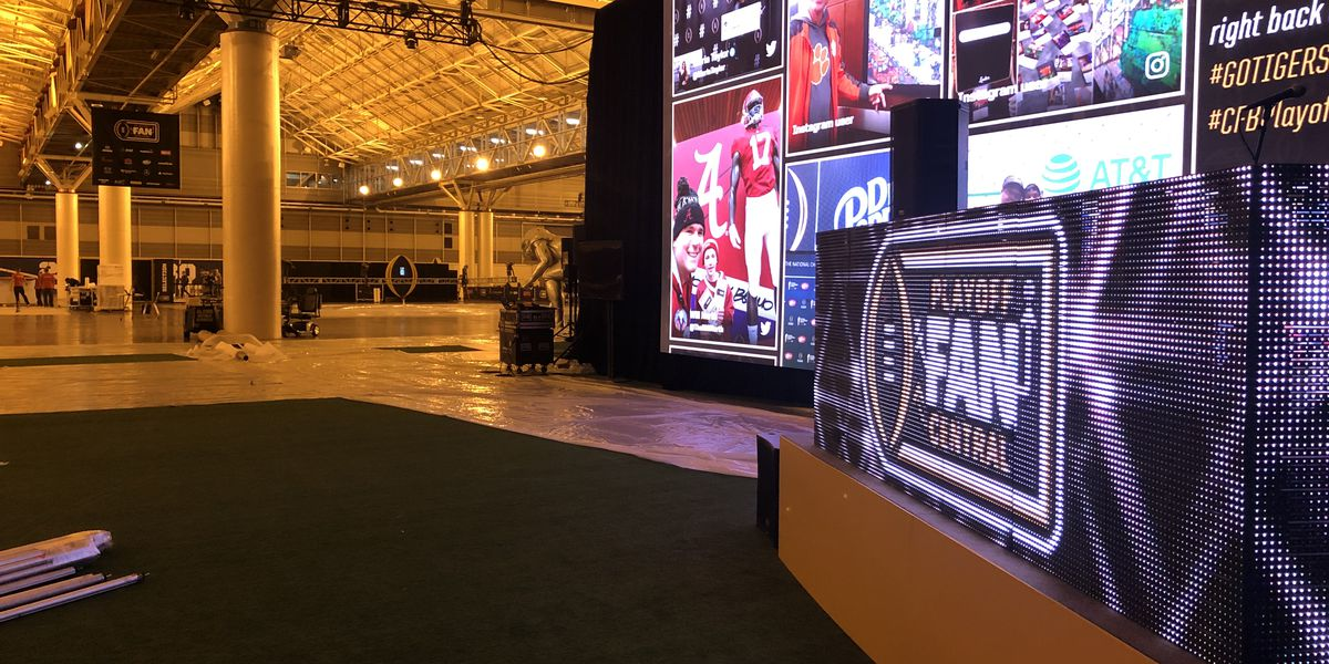 Convention Center preparing for College Football Playoff National Championship 'Fan Central'
