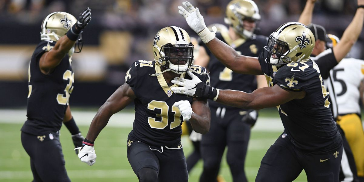 Saints narrowly upend Steelers and take top NFC seed
