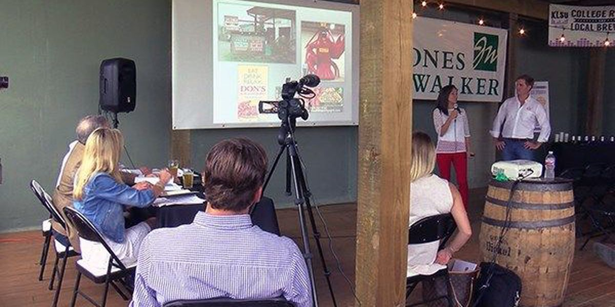 LSU holds 'Shark Tank' style business idea competition for students