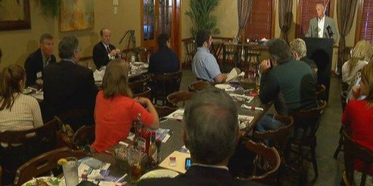 St. George leaders speak at local luncheon